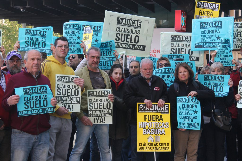 Reclamaciones por nulidad de cl usula suelo reclama ya for Clausula suelo mayo 2017