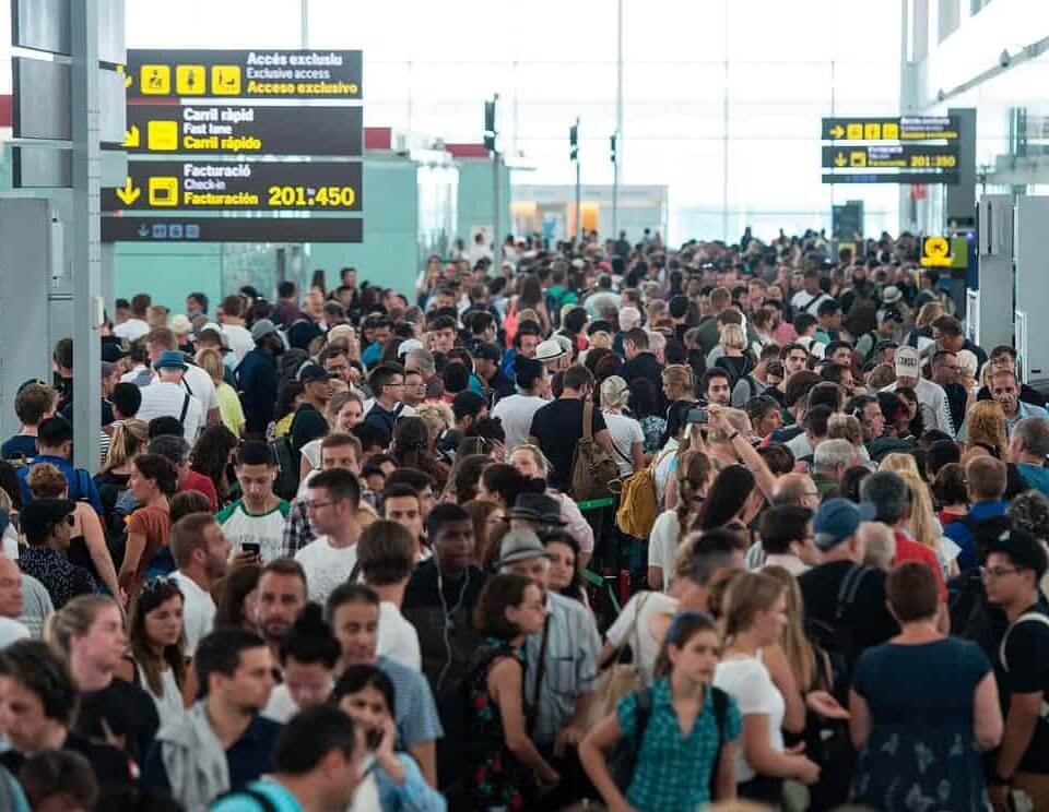 huelgas aeropuertos