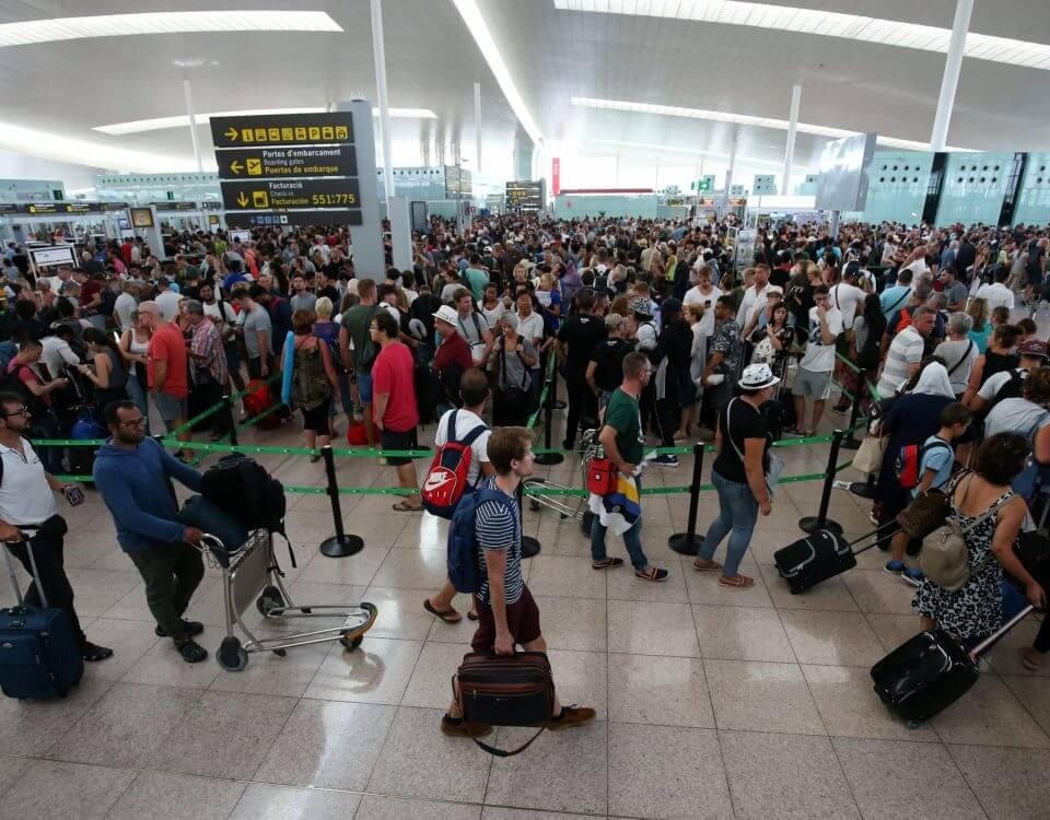 retraso vuelo aeropuerto